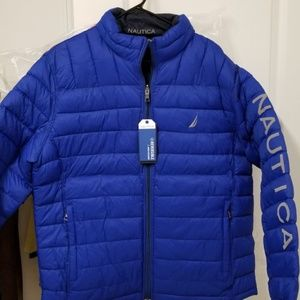 New Reversible Nautica puffer Jacket